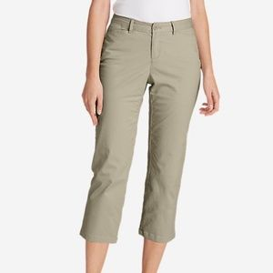 Eddie Bauer Legendwash Straight Crop Pants